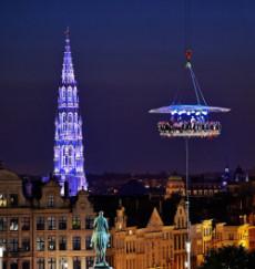 Ihre Weihnachtsfeier deutschlandweit in 50 Metern Höhe – Dinner in the sky