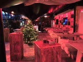 München: Weihnachtlich feiern auf der winterlichen Terrasse des legendären P1