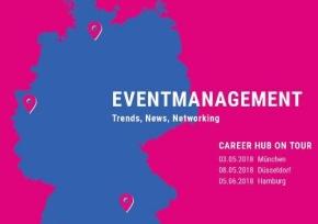 CAREER HUB on tour: Noch Anmeldungen für den 5.06.2018 möglich
