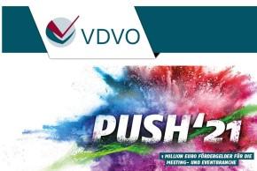 PUSH'21 – VDVO e.V. startet Förderprogramm im Wert von 1 Million Euro