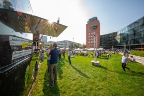 München: THE BRAINLAB TOWER – für Outdoor & Indoor Messe-Events