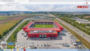 Regensburg: Jahnstadion Regensburg – jetzt auch virtuell entdecken