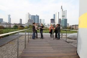 Frankfurt/Main: 2 Event-Terrassen im Museum für Kommunikation