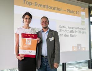 Mülheim an der Ruhr: Stadthalle wieder unter den Top 10 Eventlocations Deutschlands