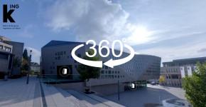 Ingelheim: Virtueller 360° Rundgang durch die kING Kultur- und Kongresshalle