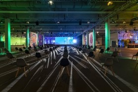 H'Up – Deutsche Messe baut Online-, Hybrid- & Live Eventlocation