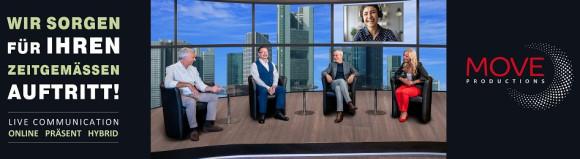 MOVE: Live-, Studio-, Event- und Medienproduktionen für Unternehmen