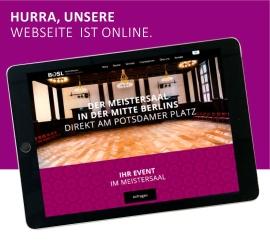 Berlin: Der Meistersaal am Potsdamer Platz mit eigener Webseite