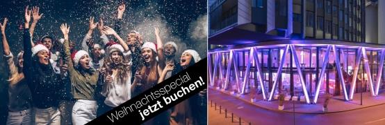 Frankfurt: Ihre hochklassige Weihnachtsfeier im Westhafen Pier 1