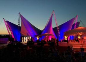 Dresden: Seit Juli eröffnet: Ostra-Insel