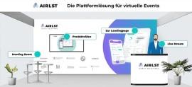 Software-Lösungen für hybride & virtuelle Eventformate bei AirLST