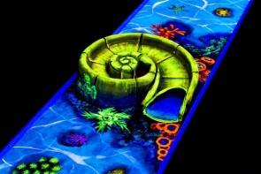 Asperg: Ihre Weihnachtsfeier als 3D-Schwarzlicht-Minigolf-Event