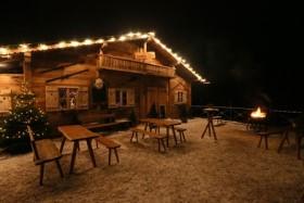 München: Weihnachten auf einer echten, urigen Almhütte