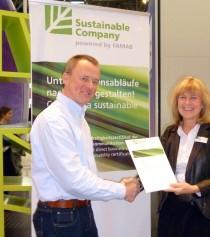 "Losberger erfolgreich als ""Sustainable Company"" re-zertifiziert"