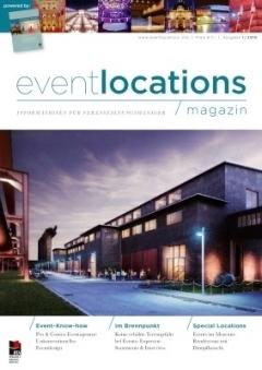 Erfolgreicher Launch: unser eventlocations magazin
