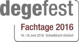 degefest-Fachtage 2016 – vom 16. bis 18. Juni 2016