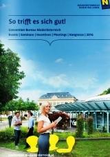 Der neue Convention Bureau Niederösterreich Katalog 2016 ist da!
