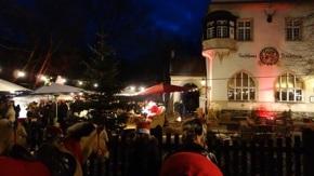 Berlin: Wilde Weihnacht im Wald