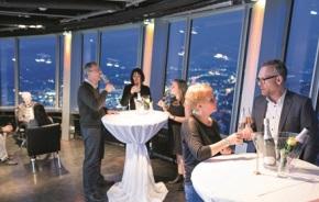 Stuttgart: Wieder buchbar – der Fernsehturm Stuttgart als Eventlocation