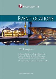 Druckfrisch und kostenfrei: das Handbuch EVENTLOCATIONS 2014 ist da!