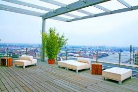 Hamburg: Auf der höchsten Dachterrasse der Stadt feiern