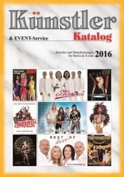 Künstler-Katalog 2016  - jetzt kostenlos bestellen!