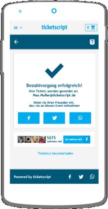 Neuer Ticketshop: Top Standard für das selbständige Online Ticketing
