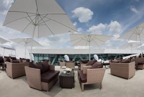 Stuttgart: Exklusive Open Air Events auf der Porsche Museum- Dachterrasse
