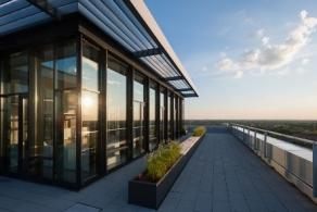 München: Draußen über den Dächern der Stadt – eventen im MS-Weitblick