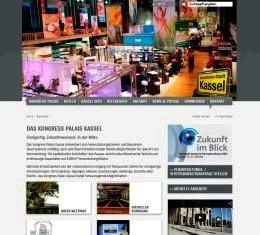Kassel: Einladend und informativ: Die neue Website des Kongress Palais Kassel