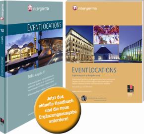 """Ergänzungsausgabe """"EVENTLOCATIONS"""" 2014 – jetzt kostenfrei bestellen"""