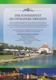 Dresden: Ihr Sommerfest im Ostrapark