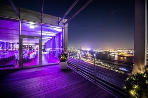Hamburg: NORD EVENT – Penthouse Elb-Panorama – dem Eventhimmel ganz nah
