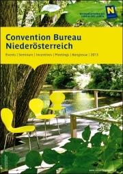 Jetzt anfordern: den neuen Convention Bureau Niederösterreich Katalog