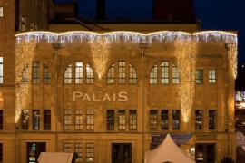 Berlin: Stimmungsvoll Weihnachten feiern im Palais in der Kulturbrauerei