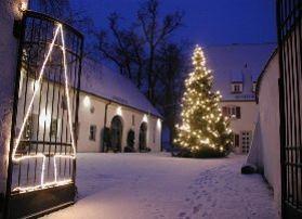 Gundelfingen: Im Dezember wird das Rosenschloss Schlachtegg zum Weihnachtsschloss