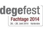 degefest-Fachtage 2014. 26.-28.06.2014 im Hotel Der Blaue Reiter Karlsruhe