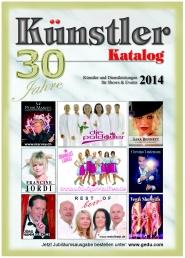 Jubiläumsausgabe Künstler-Katalog 2014 ist erschienen!