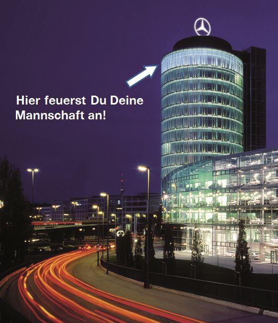 München: Private Viewing über den Dächern von München