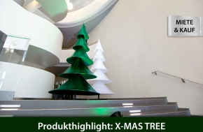 X-MAS TREE – Raumskulptur zum Mieten und Kaufen