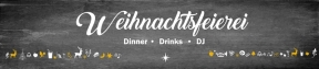Nürnberg: 4 Tage, 4 Locations –  die Weihnachtsfeierei im PARKS