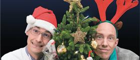 """Show-Act für die Firmenweihnachtsfeier: """"Weise Weihnacht"""" – die Wissenschaftsshow zum Fest"""