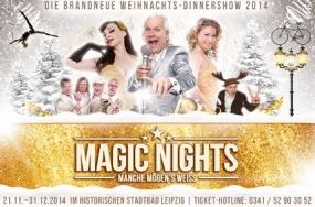 Leipzig: Brandneue Weihnachts-Dinnershow im Leipziger Stadtbad