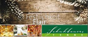 Kirchdorf: In Schuhbauers Tenne feiern Sie Weihnachten mal ganz anders!