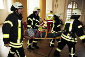 Kassel: Notfallübung im Kongress Palais Kassel