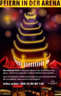 Frankfurt am Main: Ihr Weihnachtsevent in der Commerzbank-Arena