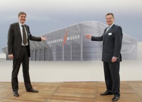 Nürnberg : Neue Messehalle energetisch und architektonischem on top