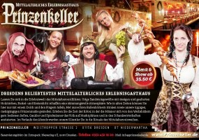 Dresden: Weihnachten im Prinzenkeller Dresden – mittelalterlich feiern im neuen Glanz
