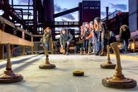 Essen: Wintererlebnis auf Zollverein