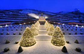 Radebeul: Schloss Wackerbarth – wo aus Trauben Weihnachtsträume werden